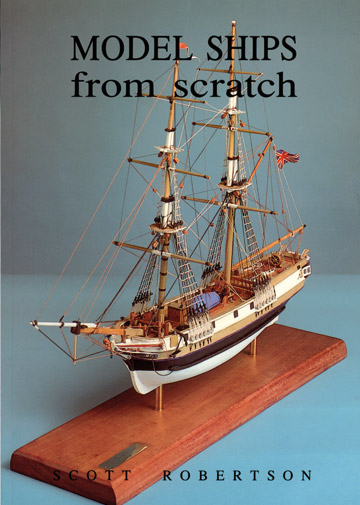 model ships from scratch
